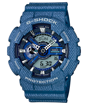 Casio G-Shock Limited Denim Color series รุ่น GA-110DC-2A