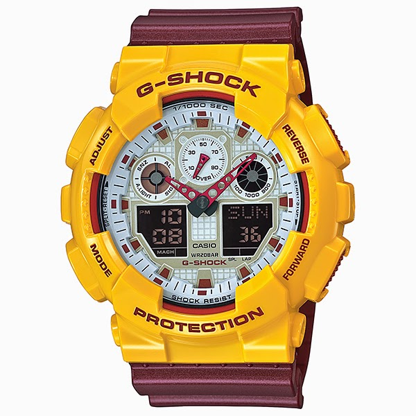 CASIO G-SHOCK รุ่น GA-100CS-9A Limited Edition