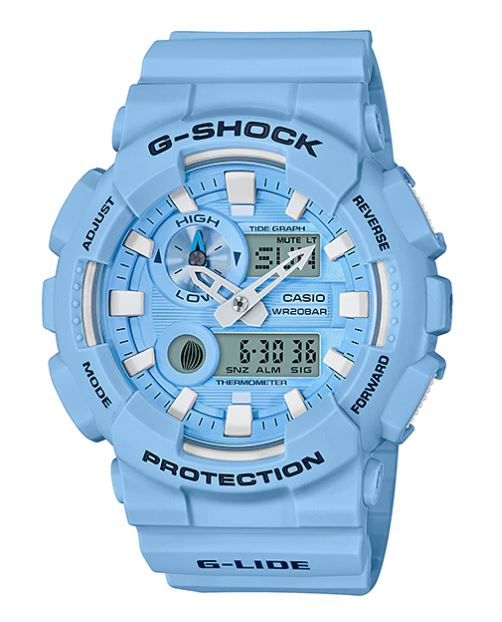 Casio G-Shock G-LIDE GAX-100CS Crayon Pastel Summer color series รุ่น GAX-100CSA-2A