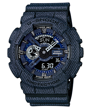 Casio G-Shock Limited Denim Color series รุ่น GA-110DC-1A