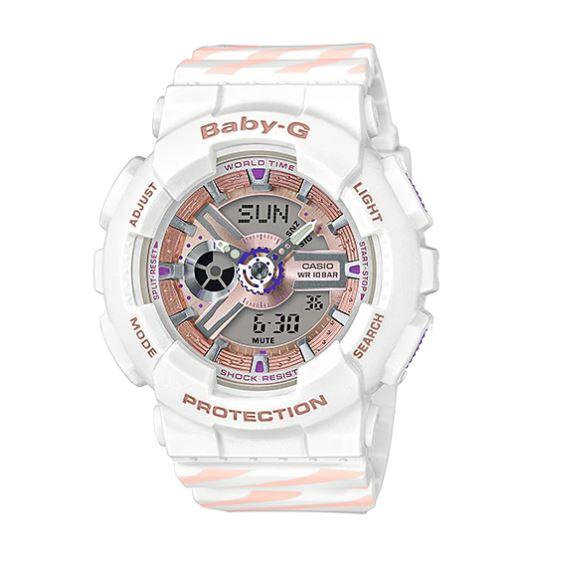 Casio Baby-G PUNTO IT DESIGN รุ่น BA-110CH-7A