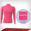 เสื้อรัดกล้ามเนื้อรุ่น Quick Dryมีรูระบายอากาศ สีชมพู hotpink สินค้าหมดชั่วคราว