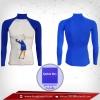 เสื้อรัดกล้ามเนื้อ รุ่น Quick Dryกอล์ฟ มีรูระบายอากาศ สีน้ำเงิน mediumvioletrd