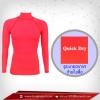 เสื้อรัดกล้ามเนื้อ รุ่นQuick Dry มีรูระบายอากาศ สีชมพู deeppink