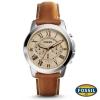 นาฬิกา FOSSIL FS5118 Men Watch Chronograph Leather นาฬิกาสายหนัง Chronograph