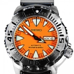 นาฬิกา Seiko Monster Orange Fang SRP 309K