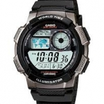 Casio standard World Time Map รุ่น AE-1000W-1AVDF