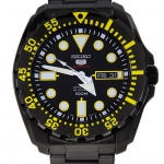 SEIKO 5 Sport Submarine Super Black SRP607K