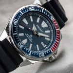 SEIKO SAMURAI Pepsi สายยาง SRPB53J1 The way to Warriors