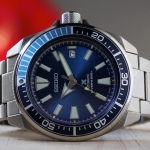 SEIKO SAMURAI BLUE (SRPB49J1) The way to Warriors