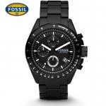 นาฬิกา FOSSIL CH2601 Men Watch Chronograph Black Stainless นาฬิกาสายสแตนเลทรมดำ Chronograph