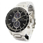 นาฬิกา Seiko Men Chronograph Solar System Black SSC435P