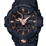 CASIO G-SHOCK Special Color GOLD in BLACK รุ่น GA-710B-1A4