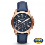 นาฬิกา FOSSIL FS4835 Men Watch Chronograph Leather นาฬิกาสายหนัง Chronograph
