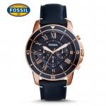 นาฬิกา FOSSIL FS5237 Men Watch Chronograph Leather นาฬิกาสายหนัง Chronograph