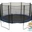 แทรมโพลีน 12 ฟุต สปริงบอร์ด trampoline เครื่องออกกำลังกายเพิ่มความสูง สำหรับ 5 คน thumbnail 1
