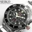 นาฬิกา Seiko Men Chronograph Solar System Diver 200m seiko ssc015P สาย Stainless black thumbnail 3