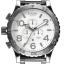 นาฬิกา NIXON Men Chronograph Chronograph White Dails Watch A083488 48-20 thumbnail 1