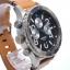นาฬิกา NIXON Men Chronograph Chronograph Brown Leather Watch A3631602 48-20 thumbnail 3