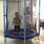 แทรมโพลีน 55 นิ้ว สปริงบอร์ด ออกกำลังกายเพิ่มความสูง รับน้ำหนักได้ 100 kg สำหรับบ้านพื้นที่น้อยๆ thumbnail 1